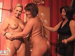 Blonde German Amateur Lesbian