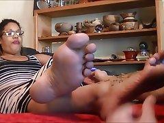 BBW BDSM Femdom Foot Fetish