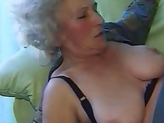 Granny Amateur Blowjob Hairy