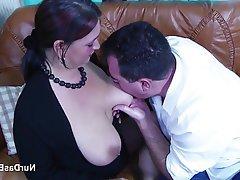Big Boobs Casting German Mature