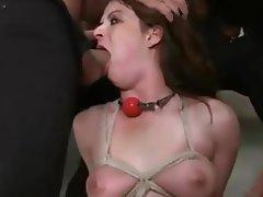Amateur BDSM Gangbang Hardcore