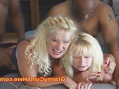 Amateur Cumshot Granny Interracial