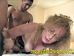 Amateur Creampie Group Sex Interracial