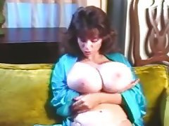 Big Boobs Brunette Lingerie Vintage