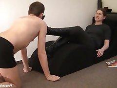 BDSM CFNM Femdom Foot Fetish