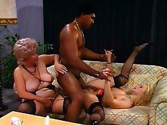 German Granny Group Sex Stockings