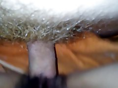 Chinese Hairy Close Up