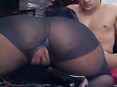 Big Boobs Hardcore Nylon Stockings