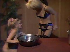 Lesbian Blonde MILF
