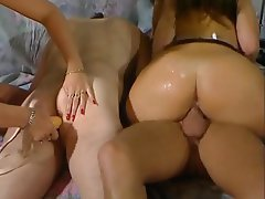 Anal Double Penetration Strapon Big Boobs Vintage