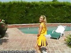 Babe Blowjob Teen Cheerleader