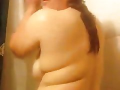 Amateur Big Boobs Shower Softcore