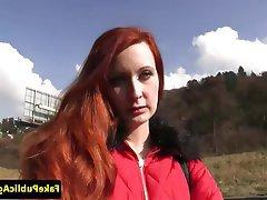 Cumshot Redhead