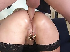 Anal Blonde Blowjob German