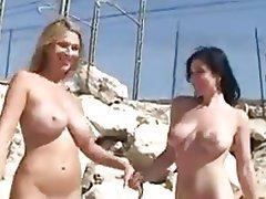 Babe Beach Czech Lesbian