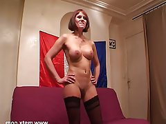 Amateur Casting Mature French