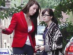 Lesbian MILF Threesome