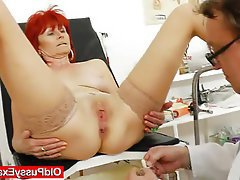 Amateur Mature Medical Redhead