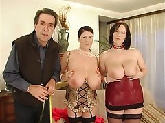 Anal Big Boobs German Threesome
