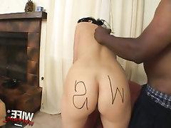 Cumshot Ebony Fetish MILF
