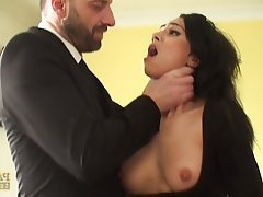 BDSM British Old and Young Squirt