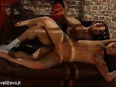 BDSM Bondage Brunette Russian