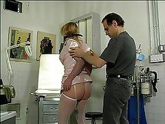 BDSM Latex Blonde