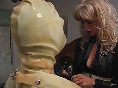BDSM Blonde Latex Femdom