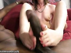 Big Cock Ebony Feet Fetish