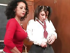 Big Boobs Lesbian MILF Old and Young