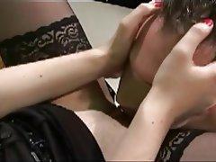BDSM Brunette Femdom German