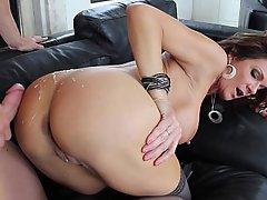 Anal Big Tits Brunette Doggystyle