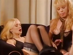 Blonde German Threesome Vintage