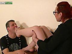 BDSM Facial Femdom Foot Fetish