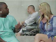 Blonde Cuckold Interracial MILF