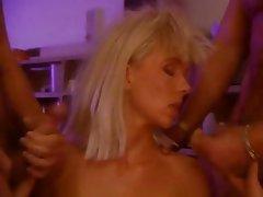 Double Penetration Group Sex MILF Pornstar
