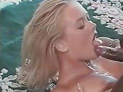 Blonde Vintage Blowjob Cumshot