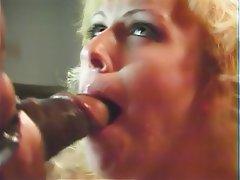 Interracial MILF Blowjob Blonde