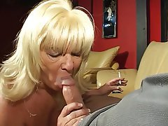 Blowjob Facial Blonde Handjob