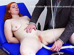 Anal BDSM British Redhead