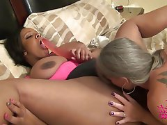 Big Boobs Big Butts Interracial Lesbian