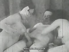 Blowjob Mature Old and Young Threesome