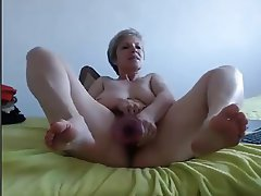 Amateur French Granny Webcam