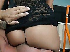 Ass Licking Brunette Cunnilingus Face Sitting