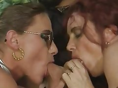 Anal German Threesome MILF