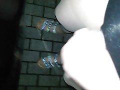 Creampie Foot Fetish Masturbation Nylon