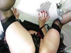 Amateur Cumshot Nylon Stockings