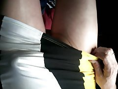 Amateur Stockings Upskirt