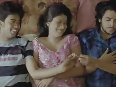 Celebrity Indian Cuckold Threesome