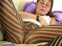 British Granny Mature MILF